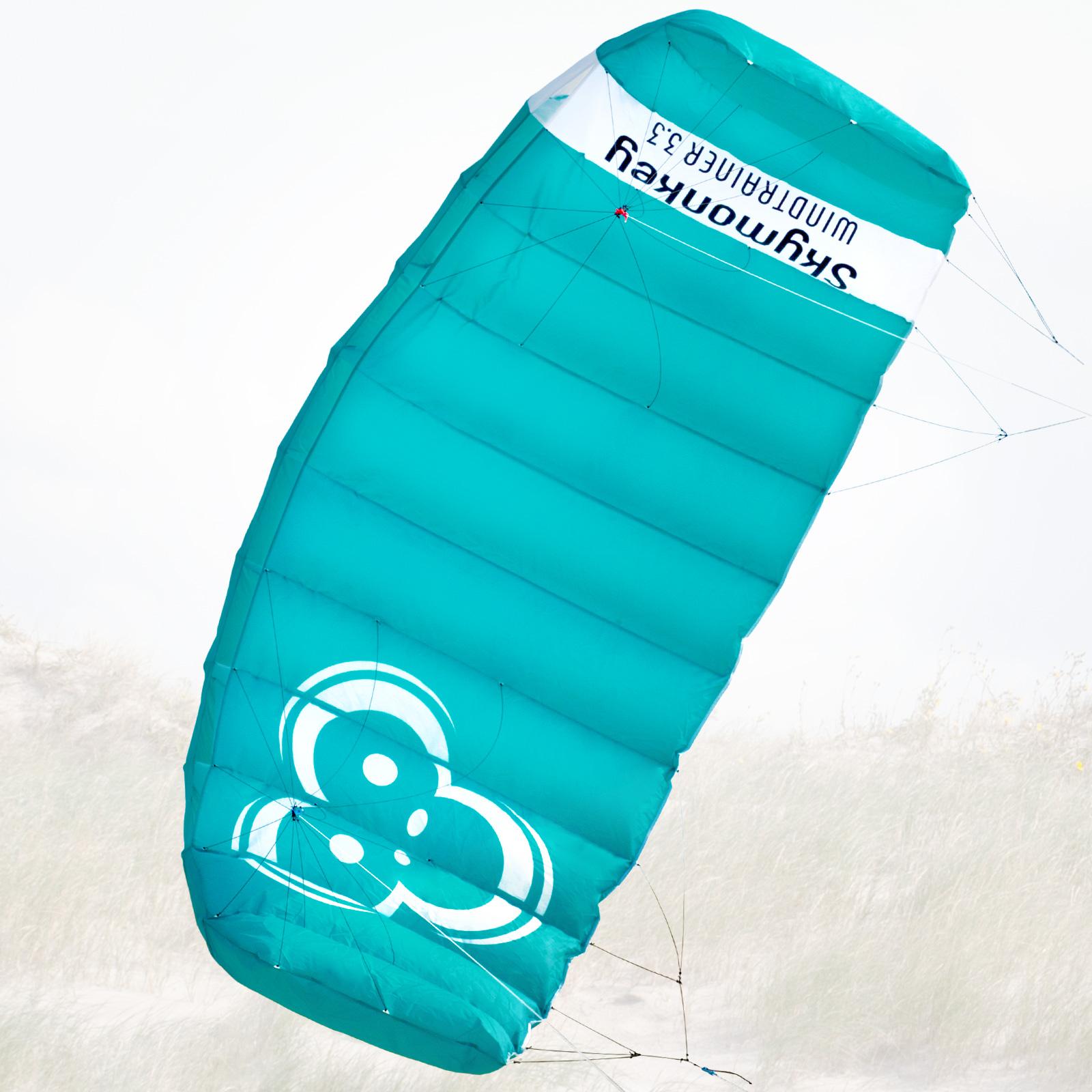 Lenkmatte SKYMONKEY Windtrainer 3.3 (Spannweite: 330 cm) Trainerkite Kite Kite Kite Drache 711062