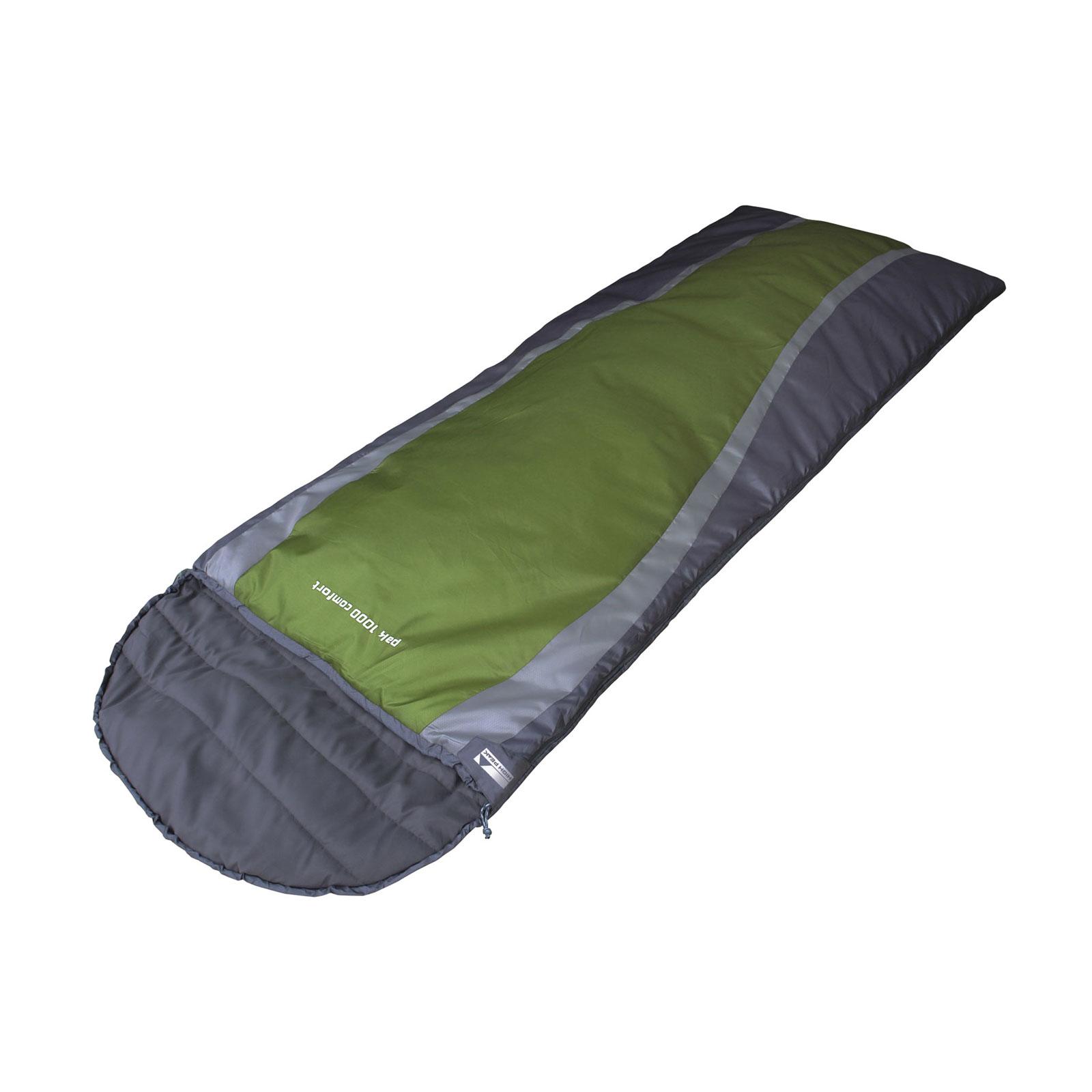 schlafsack high peak pak 1000 comfort deckenschlafsack. Black Bedroom Furniture Sets. Home Design Ideas