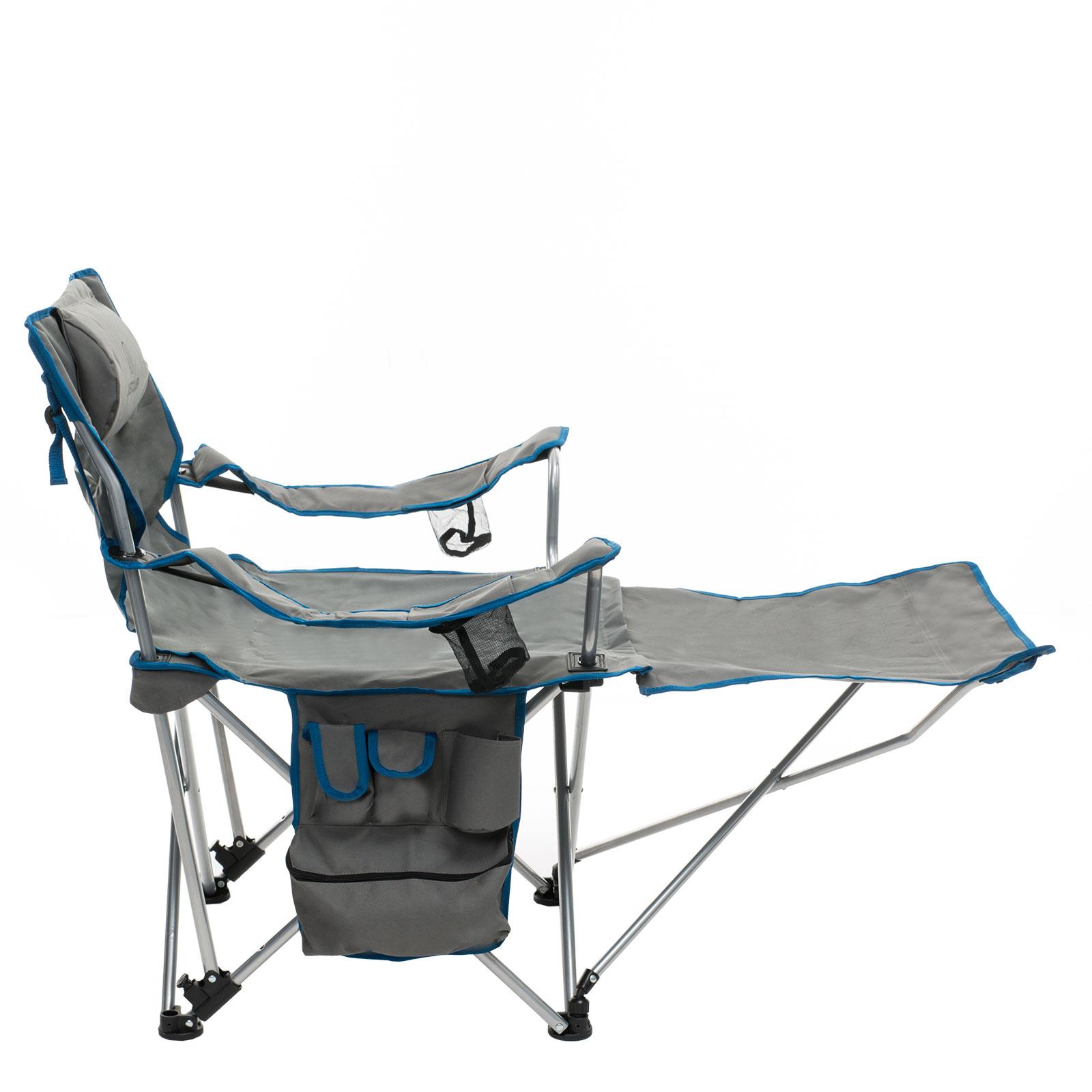 liegestuhl justcamp denver grau campingstuhl faltstuhl. Black Bedroom Furniture Sets. Home Design Ideas