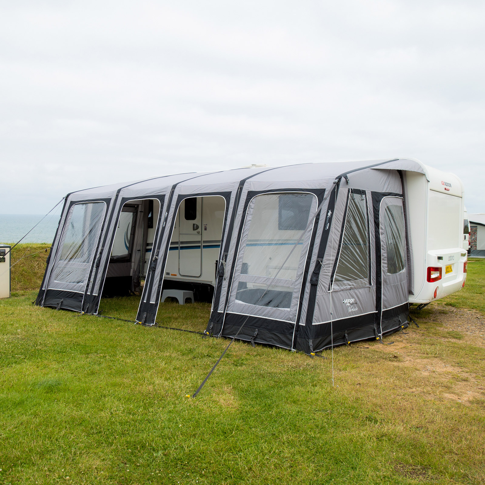 vorzelt vango air awning varkala ii 520 wohnwagen caravan anbau wohnwagen zelt ebay. Black Bedroom Furniture Sets. Home Design Ideas