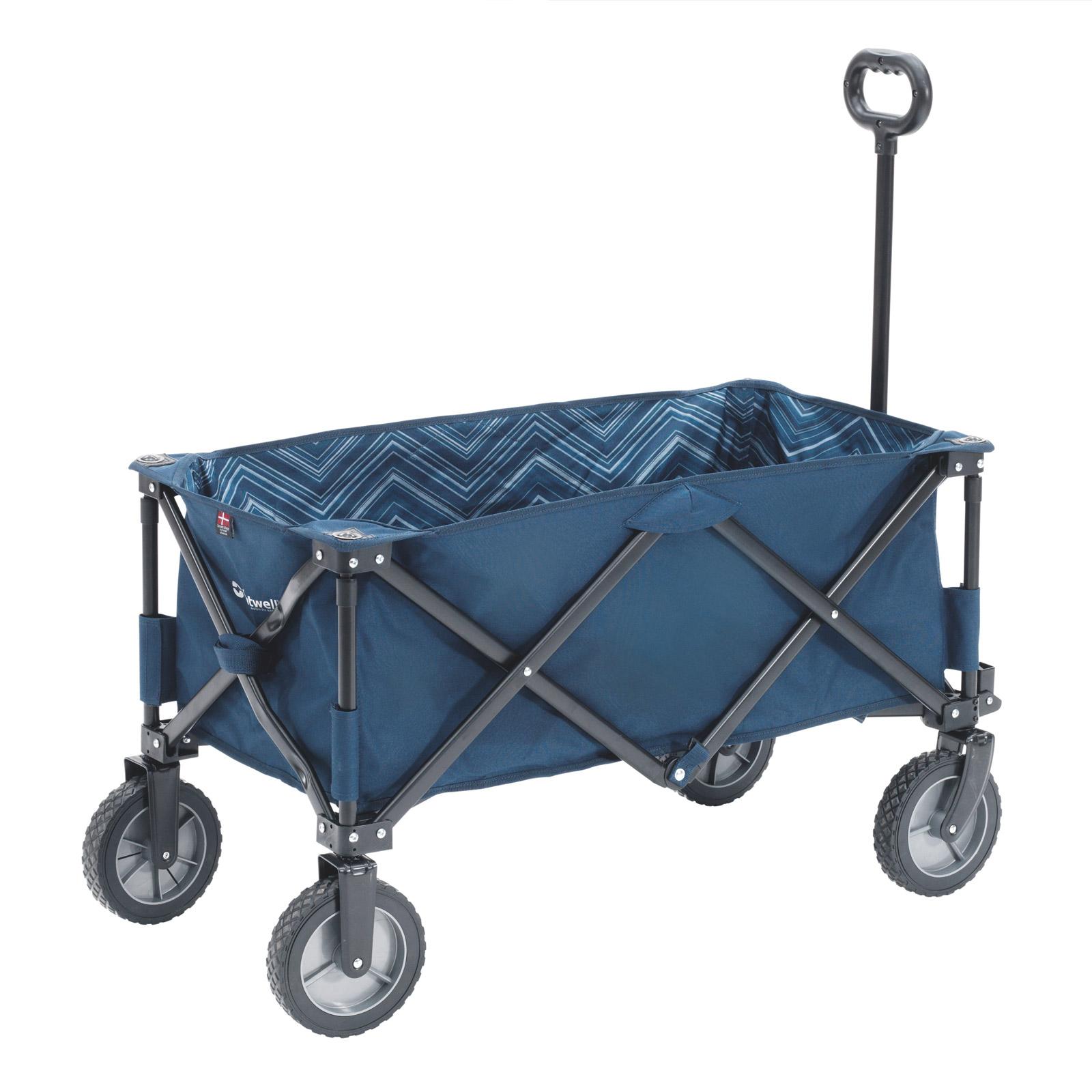 bollerwagen faltbar outwell transporter ziehwagen strandwagen leiterwagen ger te ebay. Black Bedroom Furniture Sets. Home Design Ideas