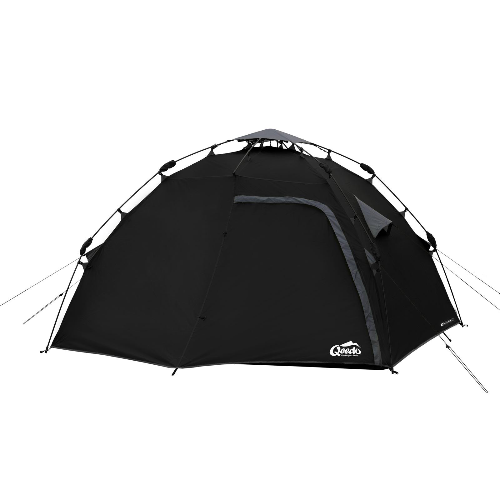 4 mann zelt qeedo quick maple 4 sekundenzelt campingzelt wurfzelt pop up zelt ebay. Black Bedroom Furniture Sets. Home Design Ideas