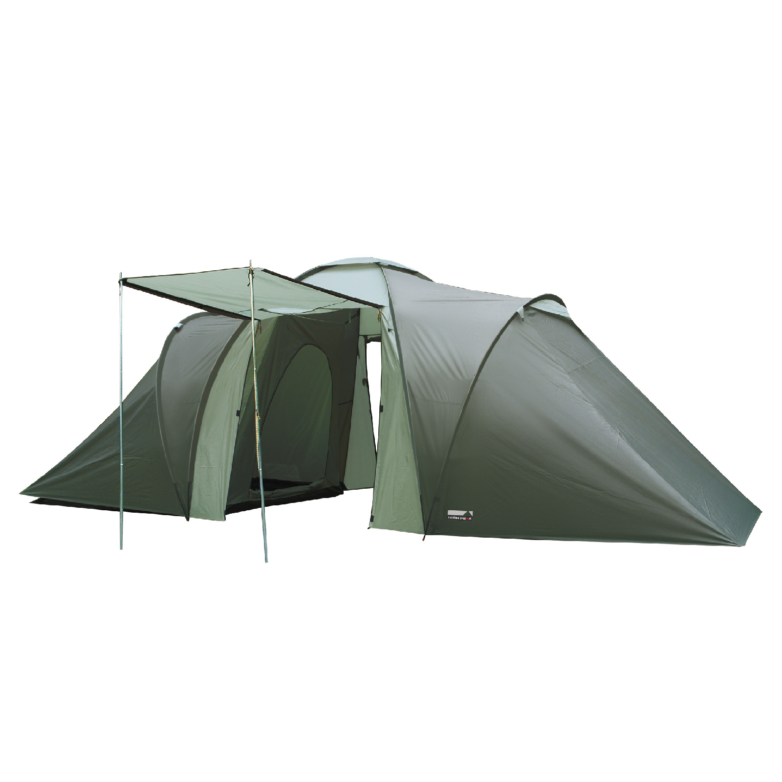 Camping Zelt 8 Mann : Zelt personen high peak como mann familienzelt tunnel