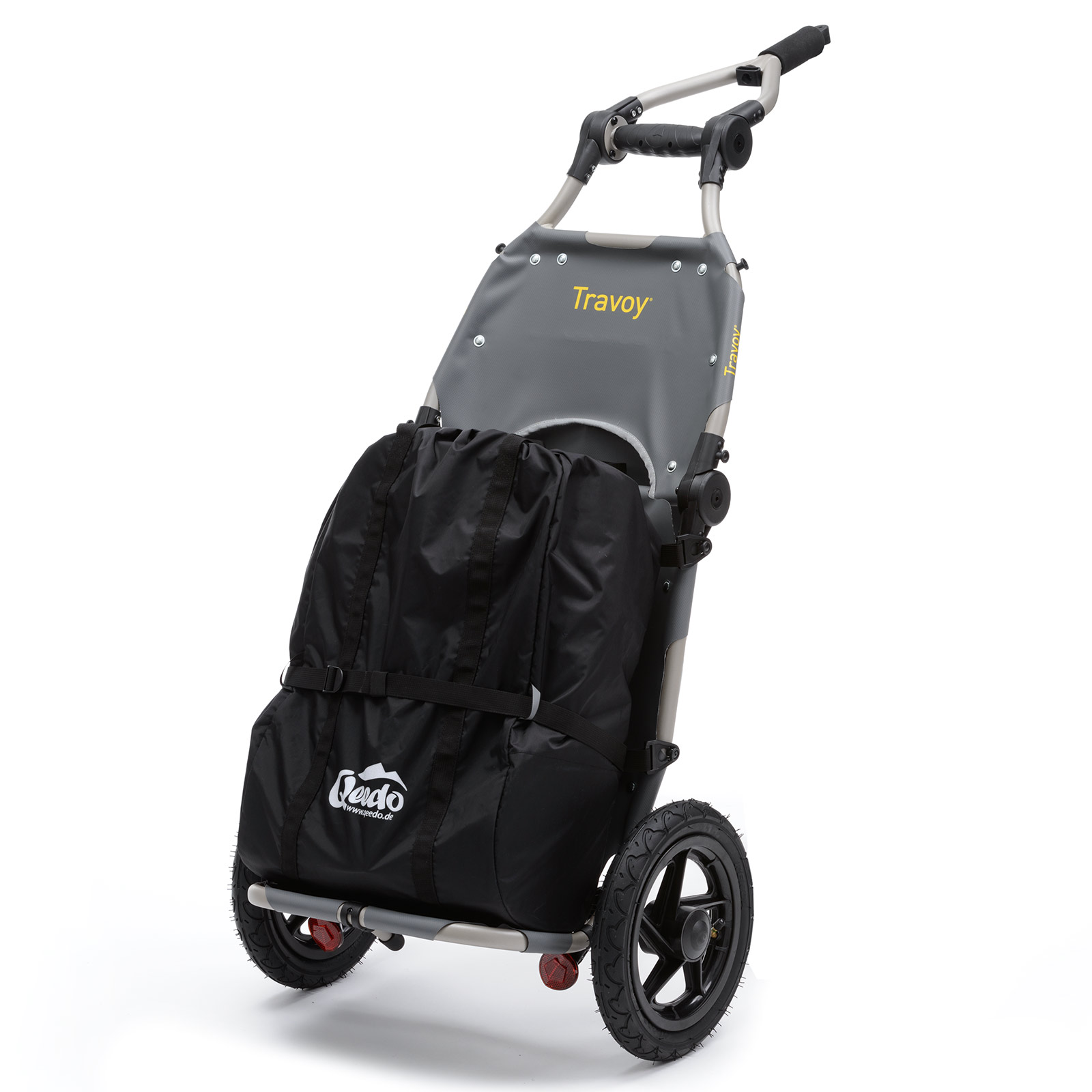 einkaufstrolley fahrrad lastenanh nger burley travoy transportanh nger shopper ebay. Black Bedroom Furniture Sets. Home Design Ideas