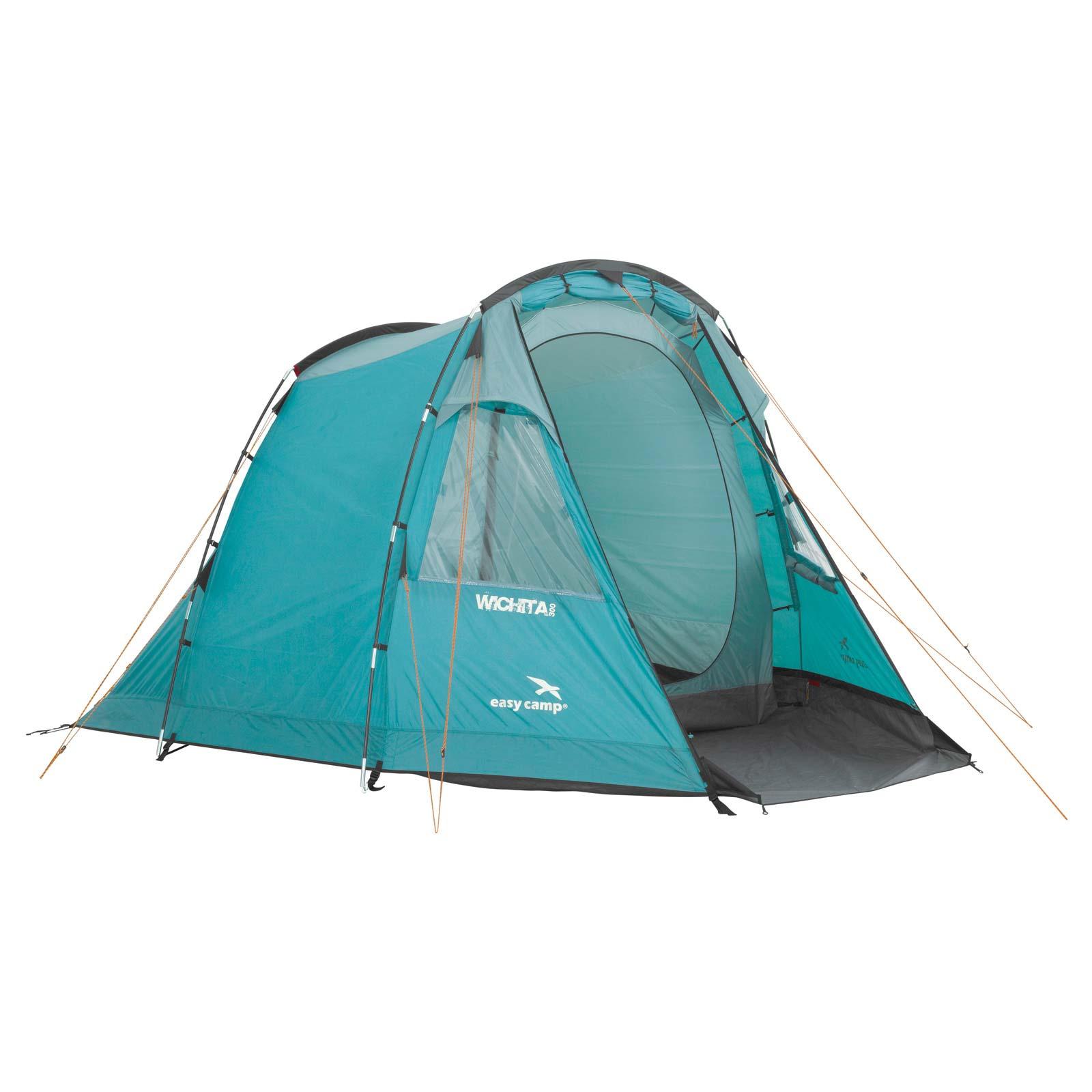 campingzelt 3 personen zelt easy camp wichita 300 familienzelt camping zelt ebay. Black Bedroom Furniture Sets. Home Design Ideas
