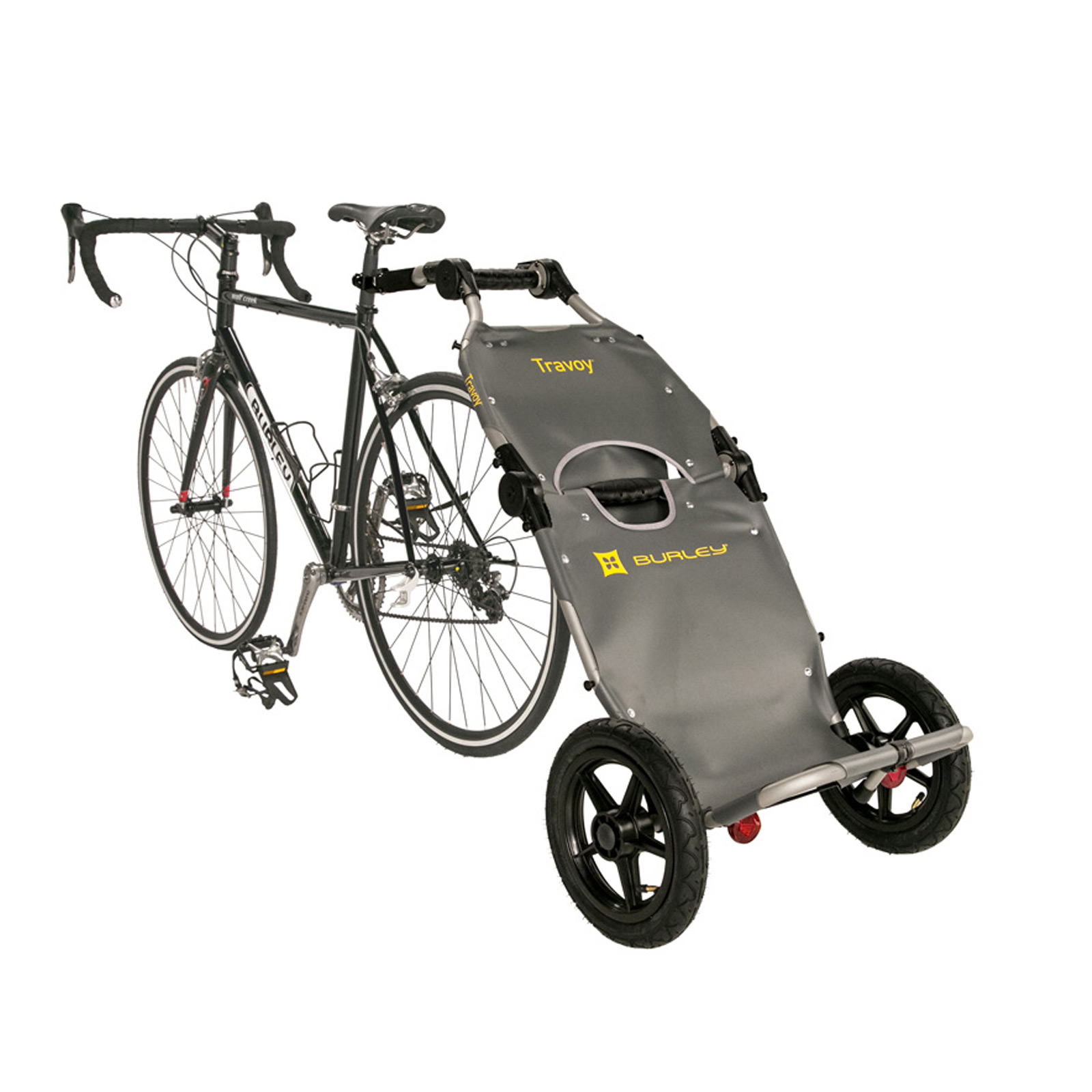 fahrrad lastenanh nger burley travoy einkaufstrolley transportanh nger shopper ebay. Black Bedroom Furniture Sets. Home Design Ideas