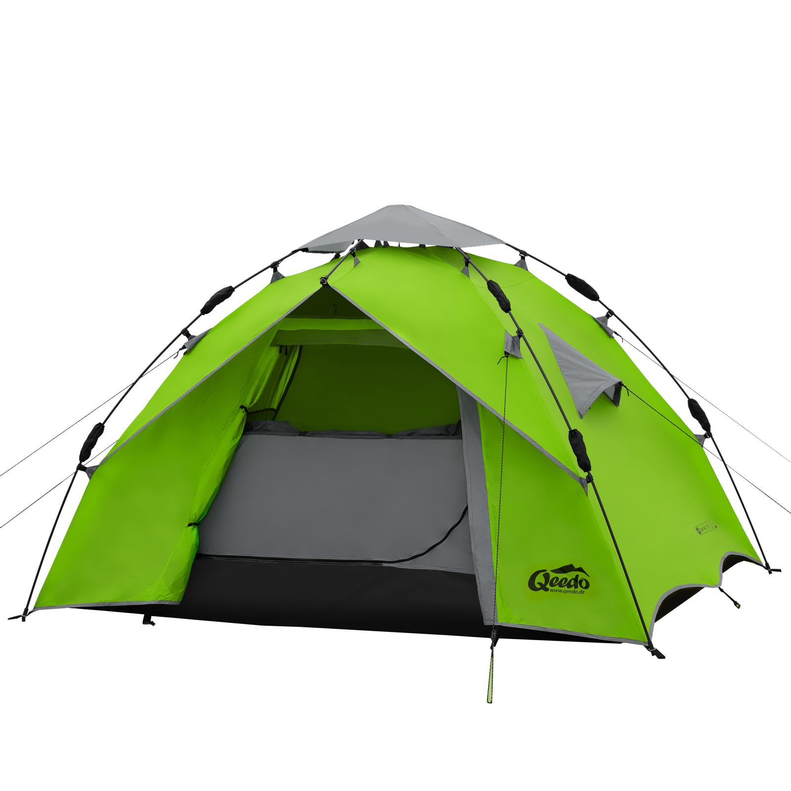2 Mann Zelt Zum Wandern : Mann zelt qeedo quick ash sekundenzelt campingzelt
