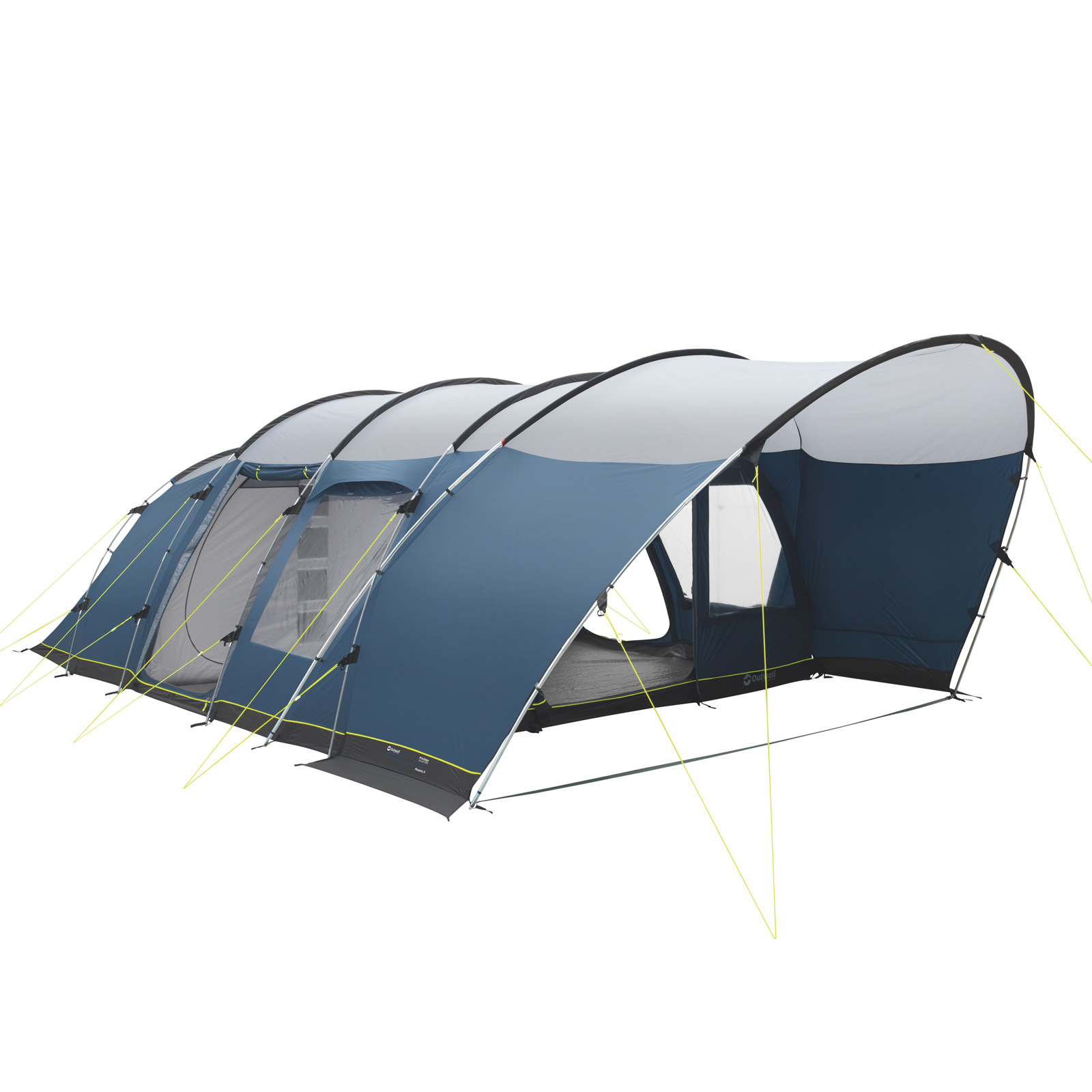 familienzelt outwell denver 6 personen camping tunnelzelt gro es sonnendach neu ebay. Black Bedroom Furniture Sets. Home Design Ideas