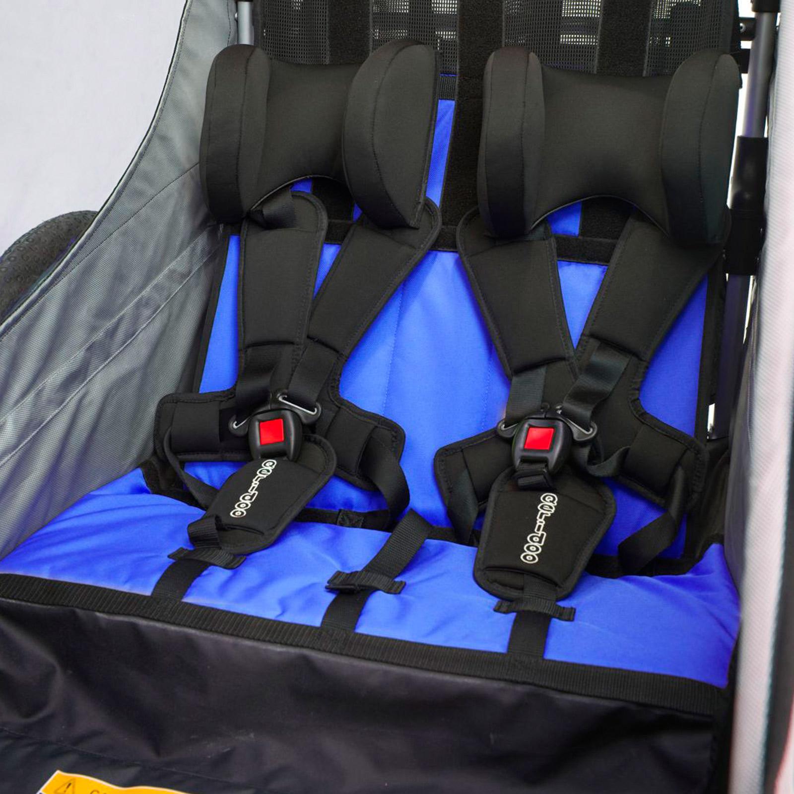 kinderfahrradanh nger qeridoo sportrex 2 kinder. Black Bedroom Furniture Sets. Home Design Ideas