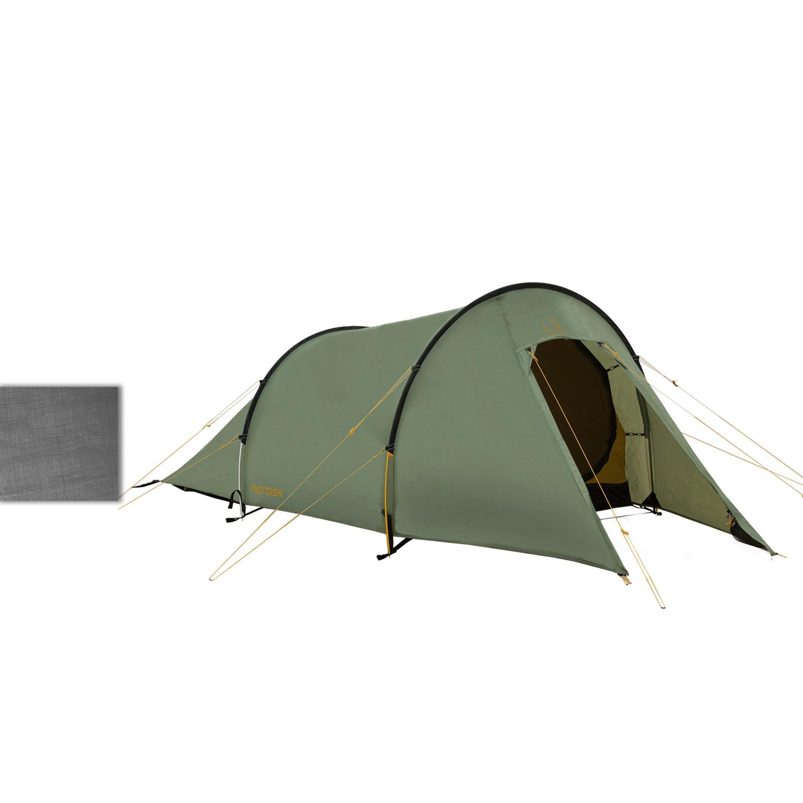 2 mann trekking zelt nordisk vitus 2 pu tunnelzelt 2. Black Bedroom Furniture Sets. Home Design Ideas