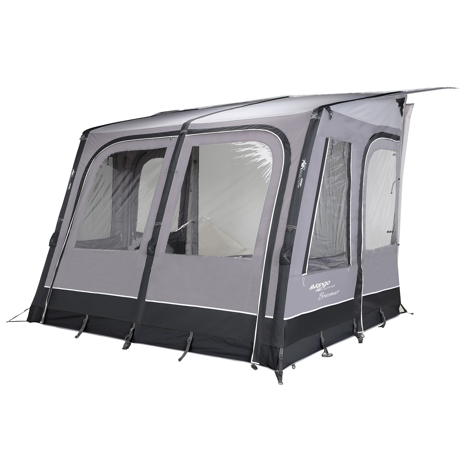 vango braemar 300 wohnwagen vorzelt aufblasbares caravan. Black Bedroom Furniture Sets. Home Design Ideas