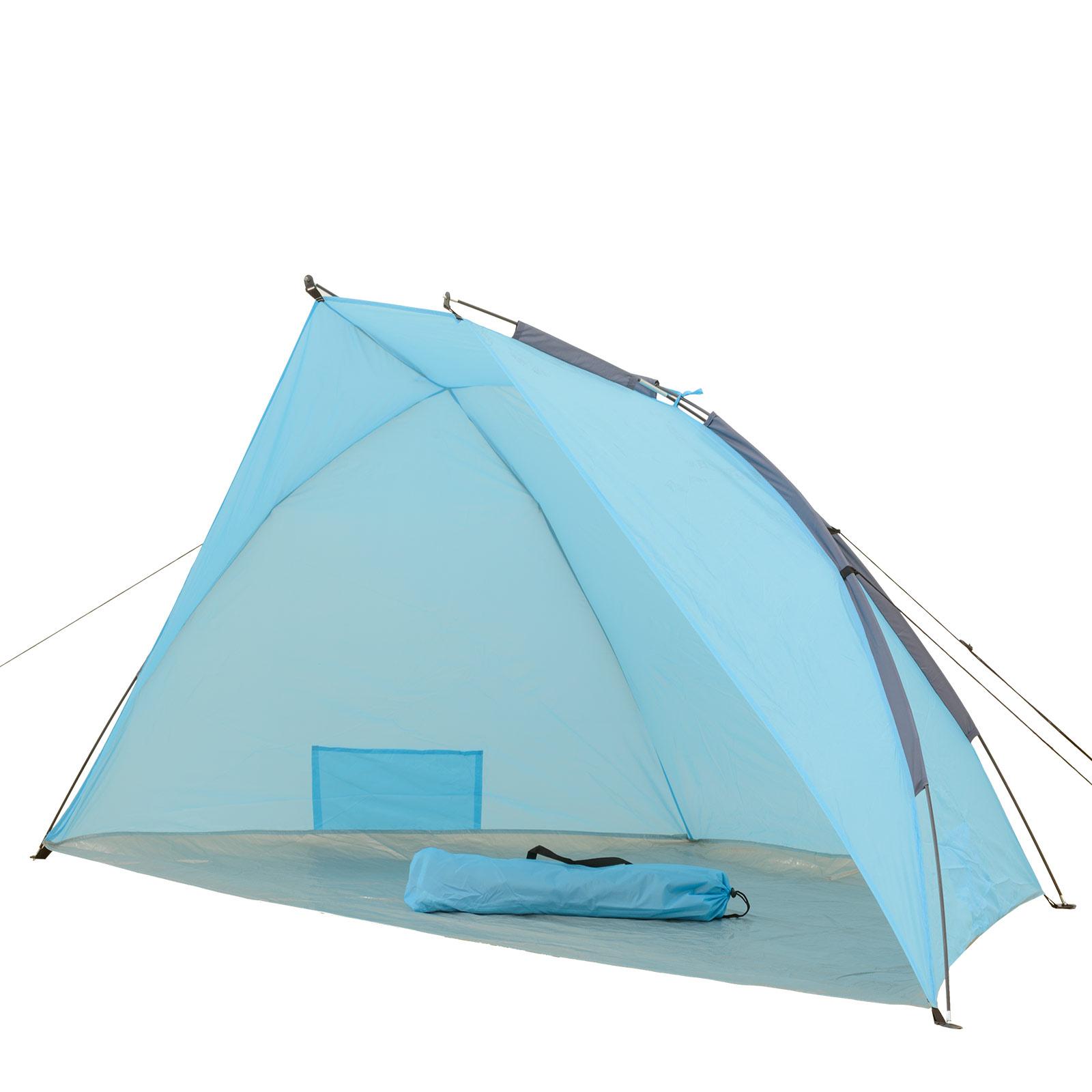 uv schutz strandmuschel windschutz zelt strandzelt sonnenschutz strand muschel ebay. Black Bedroom Furniture Sets. Home Design Ideas