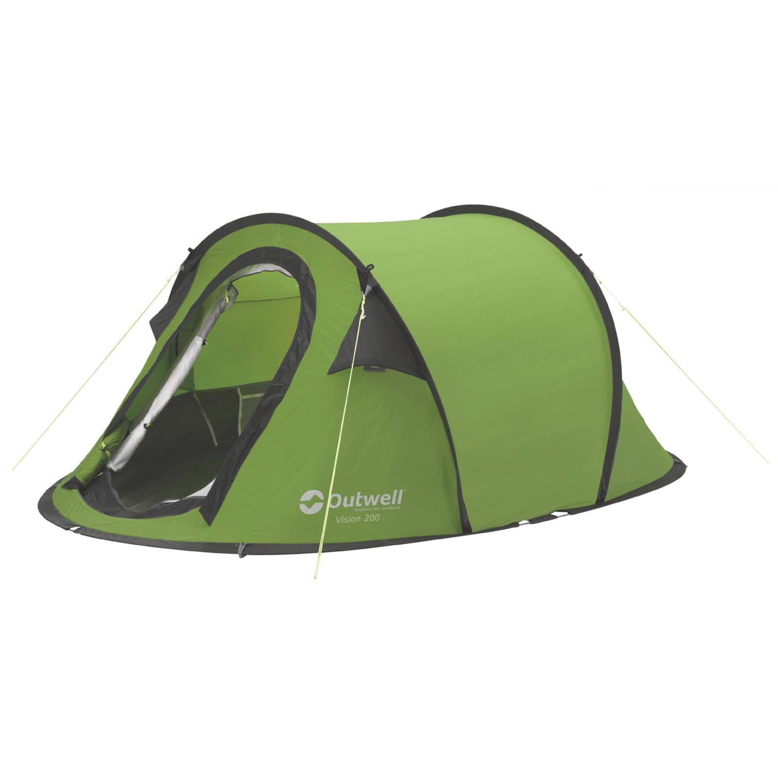 Wurfzelt OUTWELL Vision 200 grün Pop Up Zelt 2 Personen