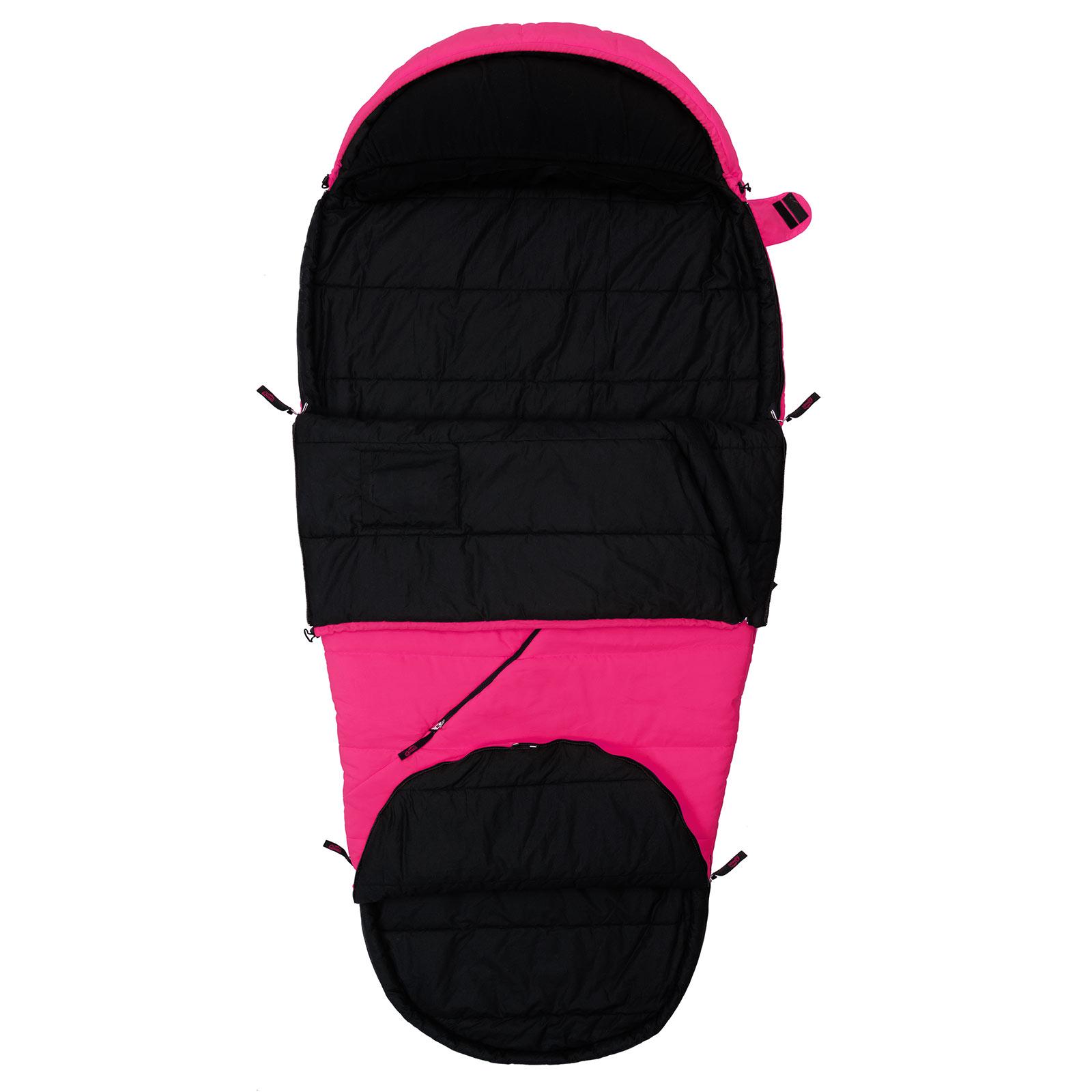 schlafsack pink camping qeedo buddy xl mumienschlafsack. Black Bedroom Furniture Sets. Home Design Ideas