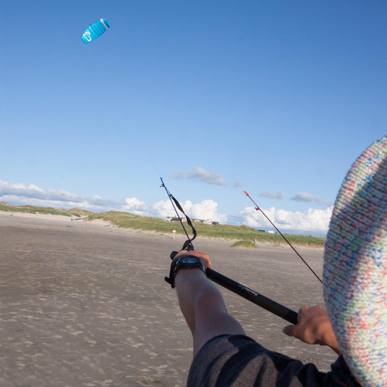 Indexbild 17 - Lenkdrachen SKYMONKEY Skystormer Lenkmatte Flugdrachen Kite Drachen Lenk Matte