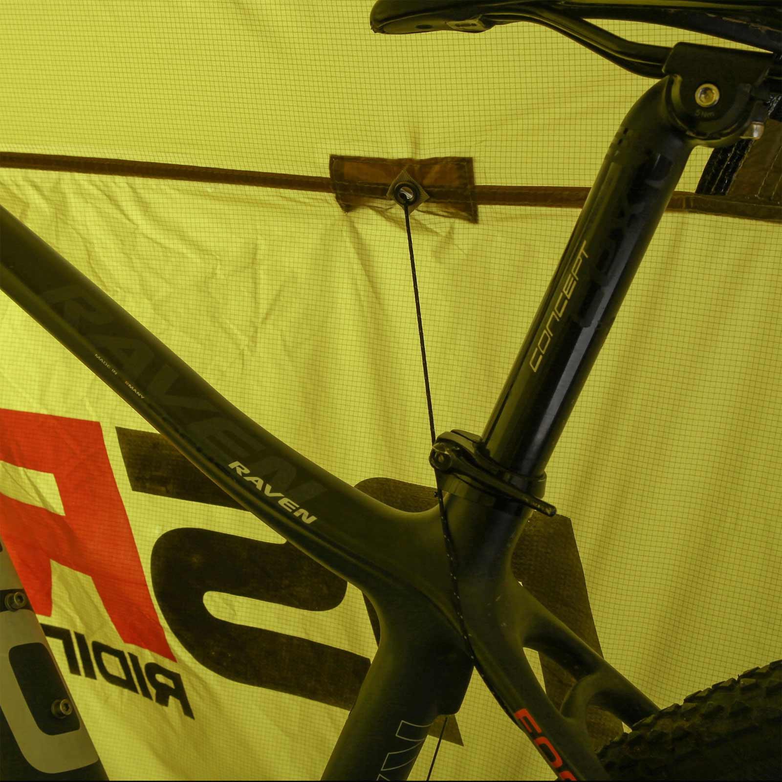 NSR Cycling Biketent 1 Personen Fahrradzelt leichtes Trekking Kuppel Kuppel Kuppel Zelt Bike 24e73a