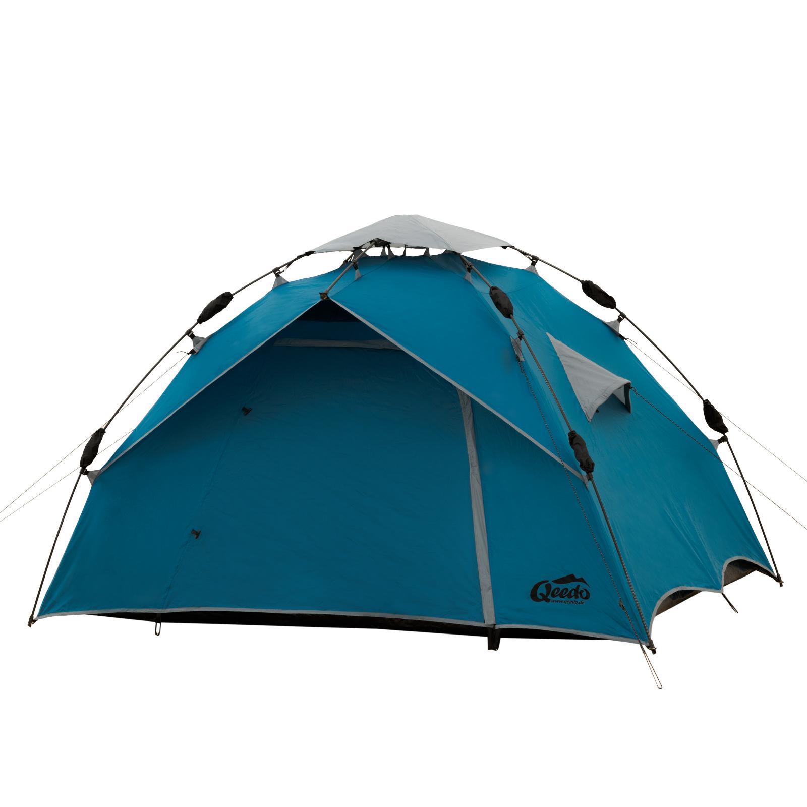 2 mann zelt qeedo quick ash 2 sekundenzelt campingzelt. Black Bedroom Furniture Sets. Home Design Ideas