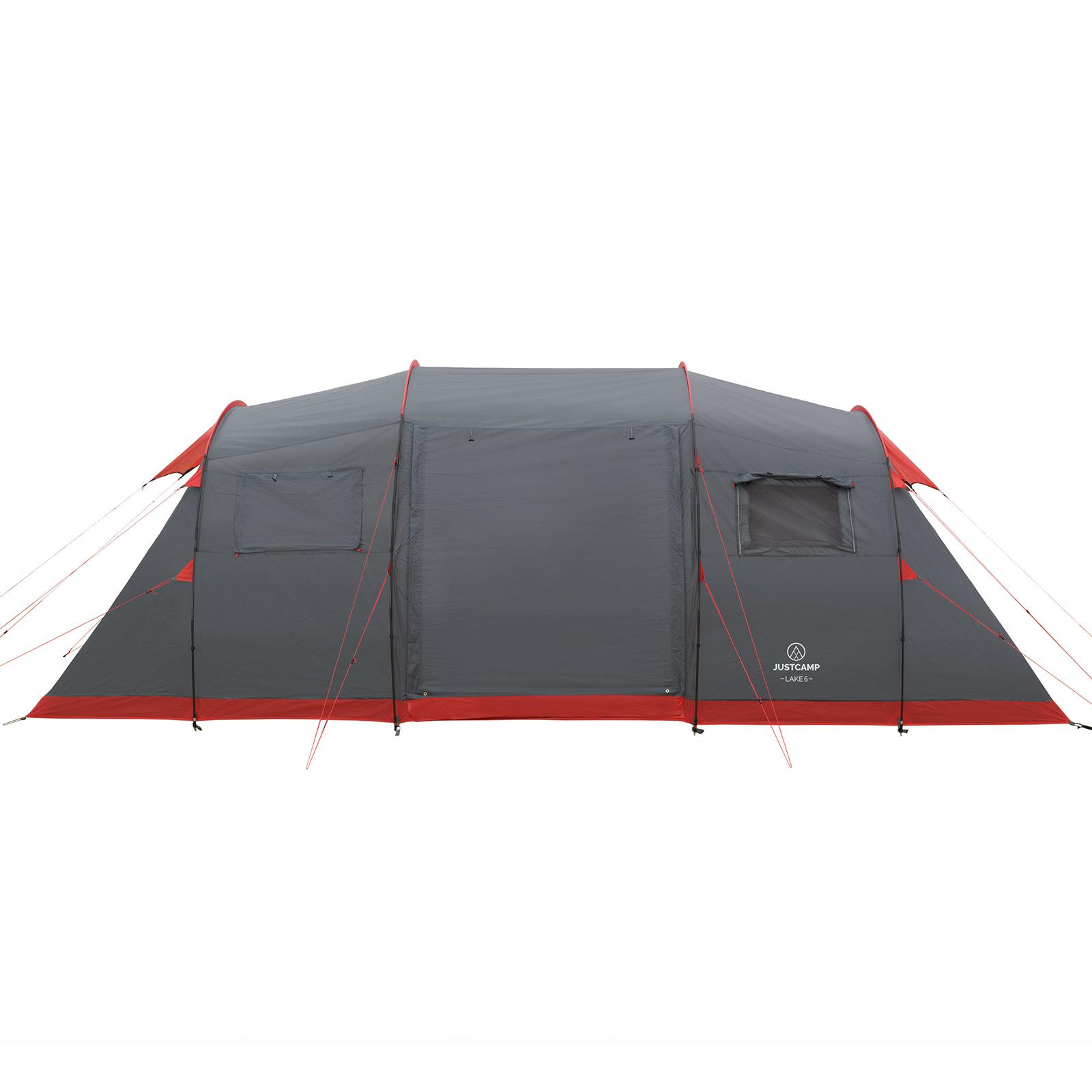 Zelte Familienzelt JUSTCAMP Lake 6 Personen Zelt mit