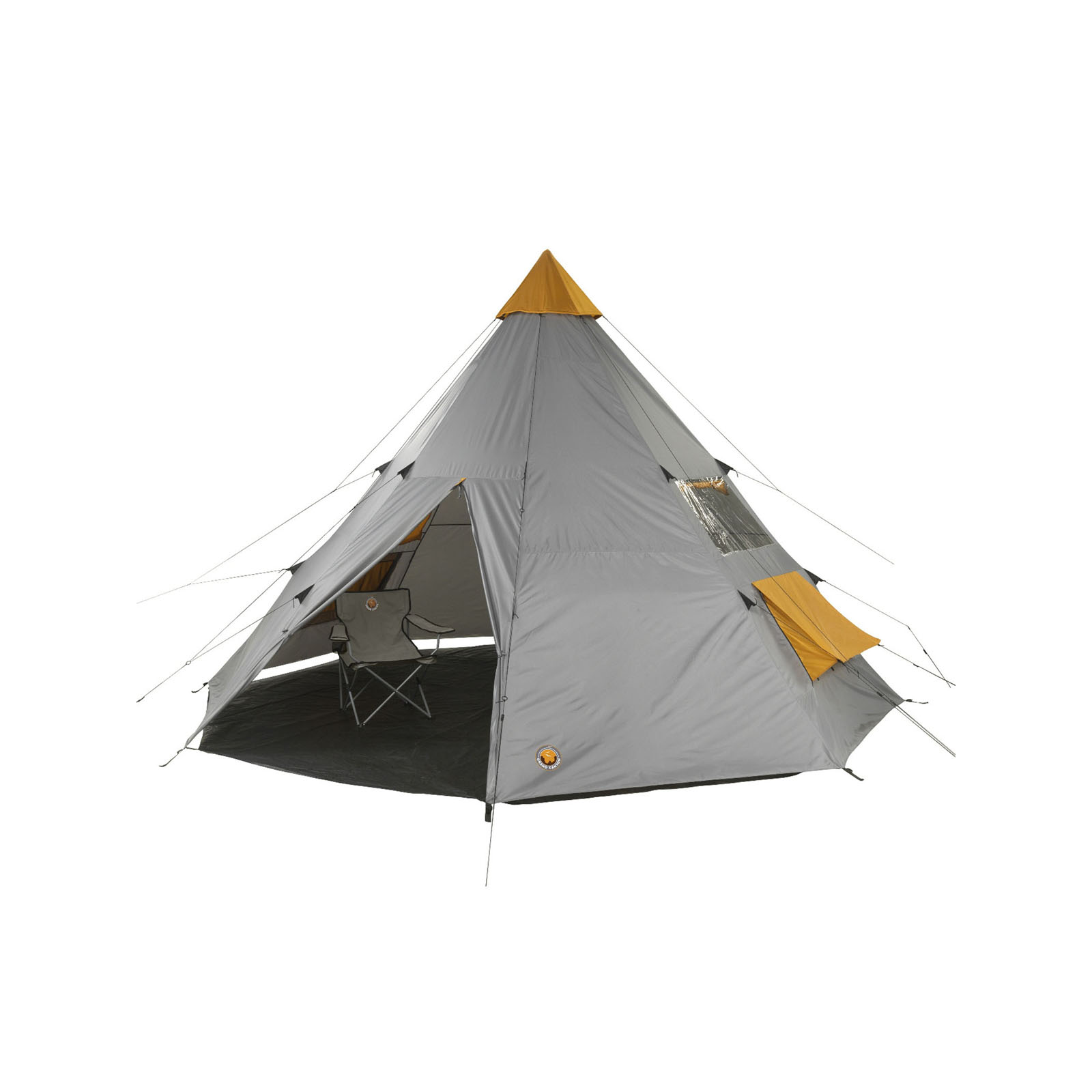 Camping Zelt 8 Mann : Tipi zelt grand canyon tepee mann gruppenzelt camping