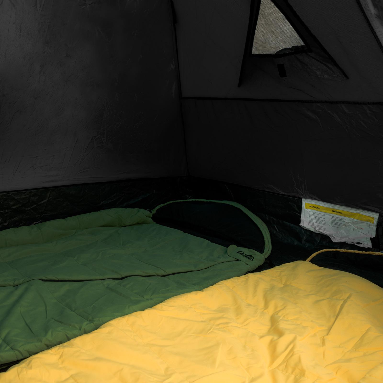 2 mann zelt qeedo quick ash 2 sekundenzelt campingzelt igluzelt pop up schwarz eur 89 90. Black Bedroom Furniture Sets. Home Design Ideas