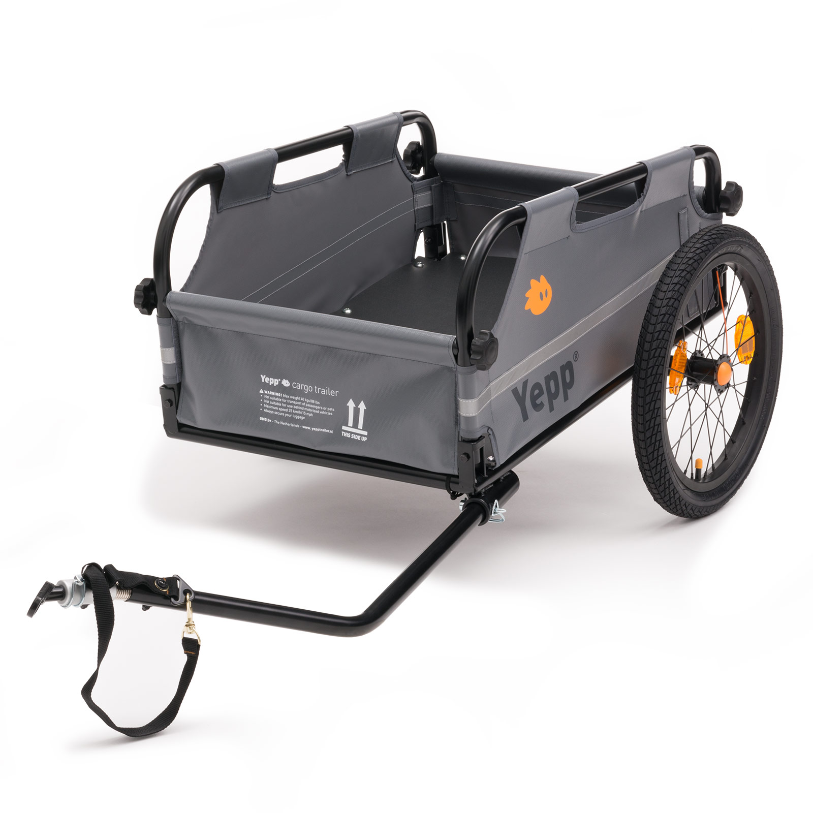 fahrrad lastenanh nger yepp cargo fahrradtransportanh nger. Black Bedroom Furniture Sets. Home Design Ideas