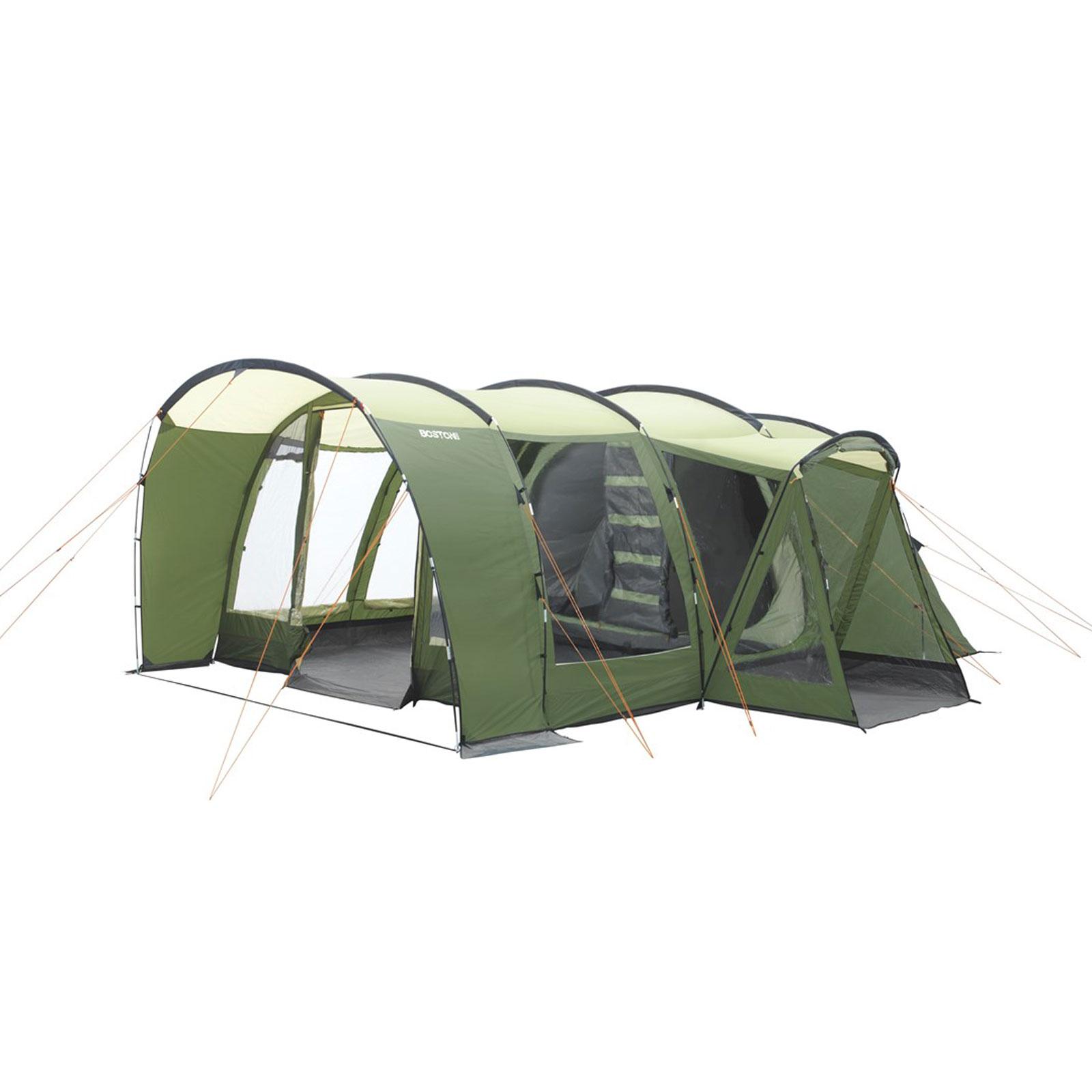 6 personen familienzelt easy camp boston 600a tunnelzelt 6 mann zelt camping ebay