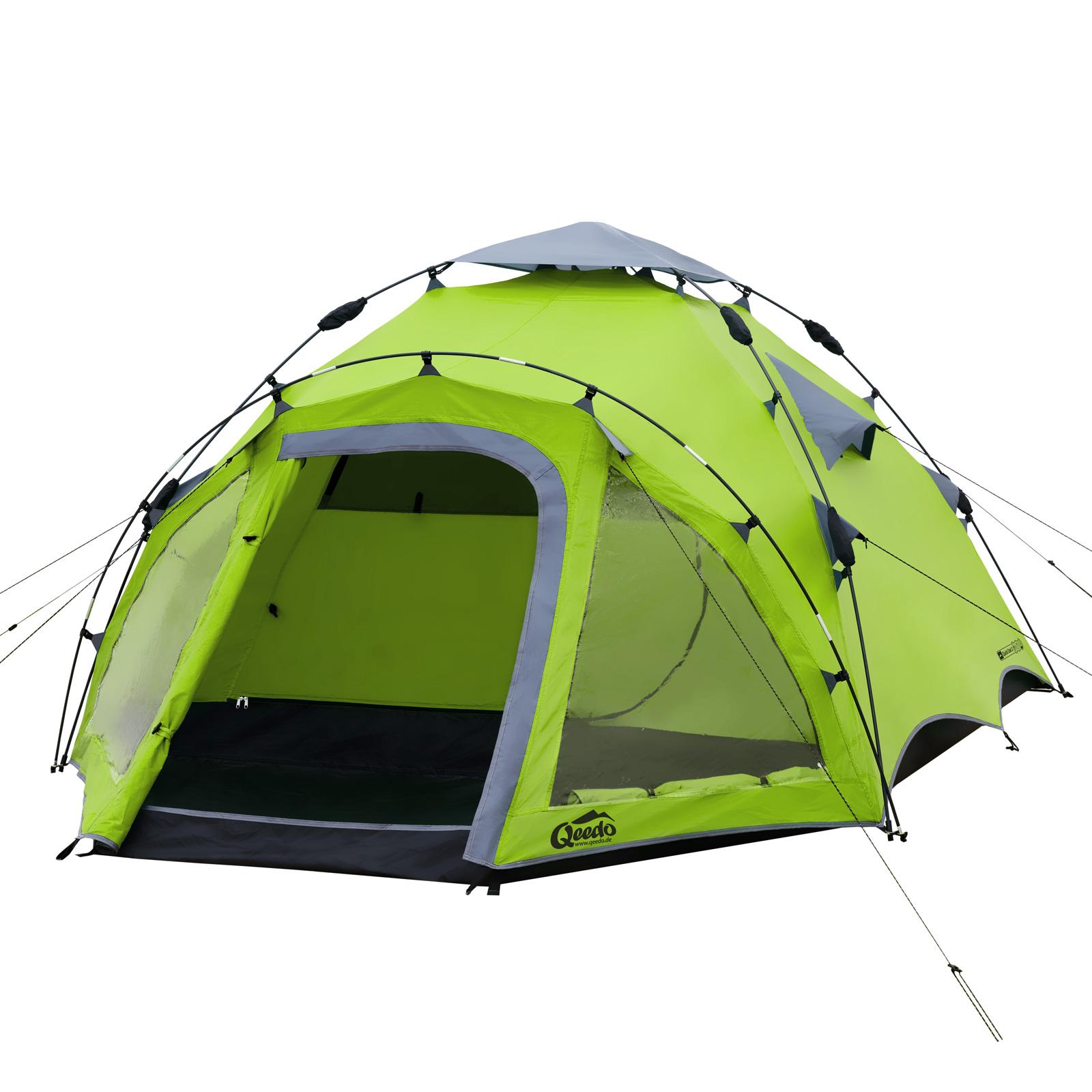 3 personen zelt qeedo quick oak 3 sekundenzelt campingzelt. Black Bedroom Furniture Sets. Home Design Ideas