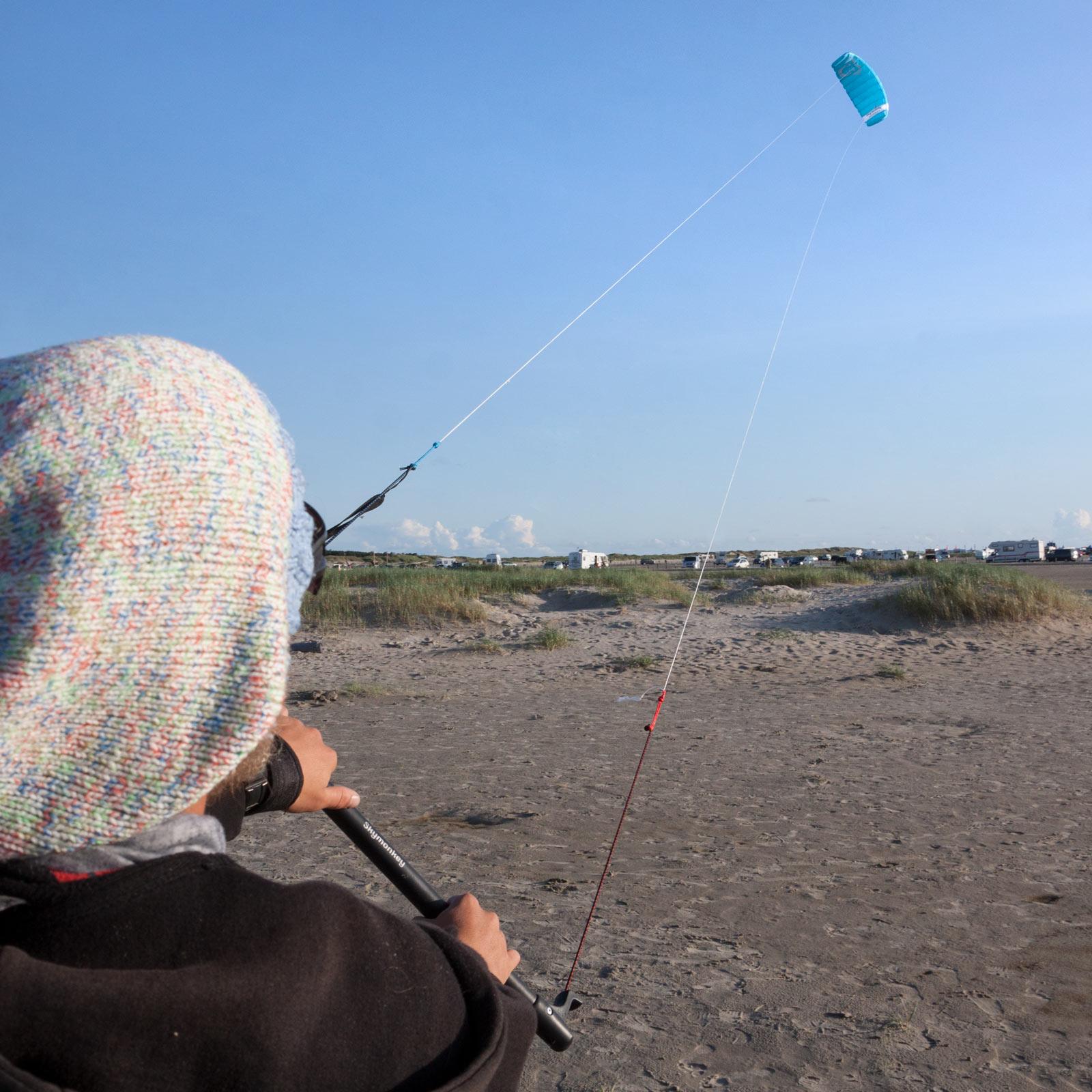 Indexbild 12 - Lenkdrachen SKYMONKEY Skystormer Lenkmatte Flugdrachen Kite Drachen Lenk Matte