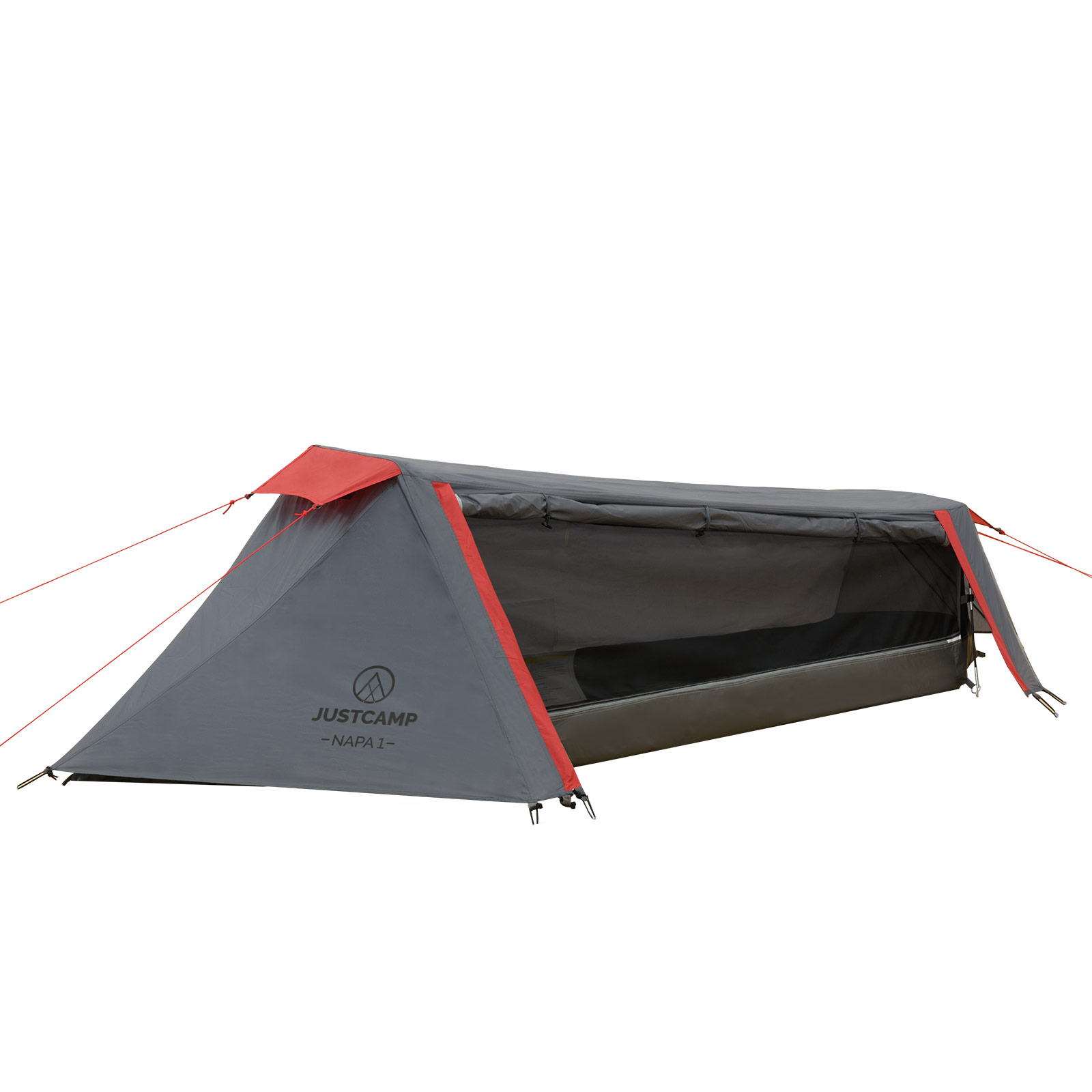 2 Personen Zelt 1 Kg : Trekkingzelt justcamp napa personen tunnelzelt nur